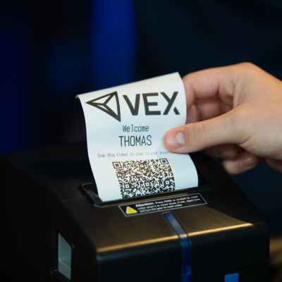 Easy-to-use ticket system to register and VEX eSports League