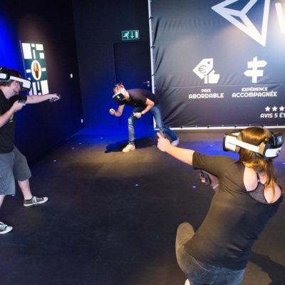 Todos pueden jugar dentro de la experiencia competitiva de itinerancia libre de VEX Arena
