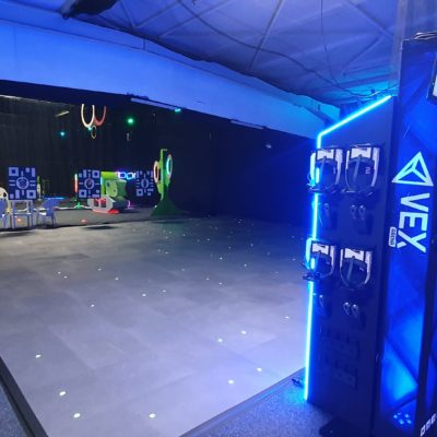 VEX Arena inside an arcade center