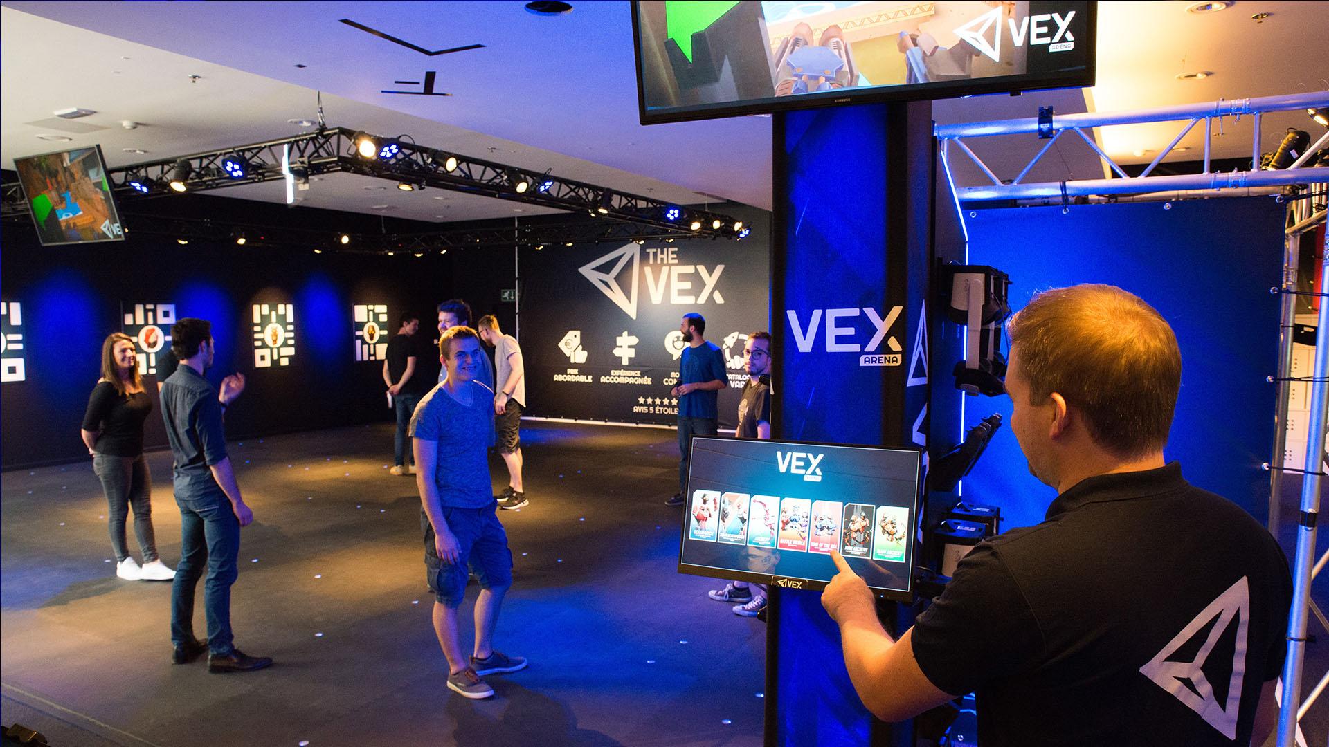 VEX Arena er den højeste kapacitet i LBVR