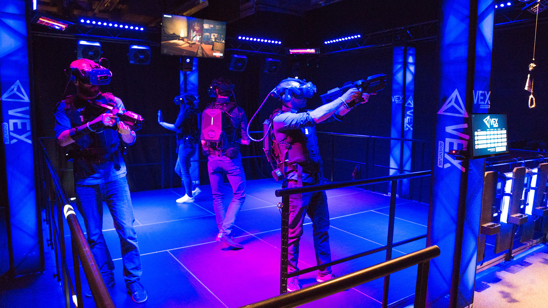 The VEX Adventure offers the most immersive experience in location-based virtual reality