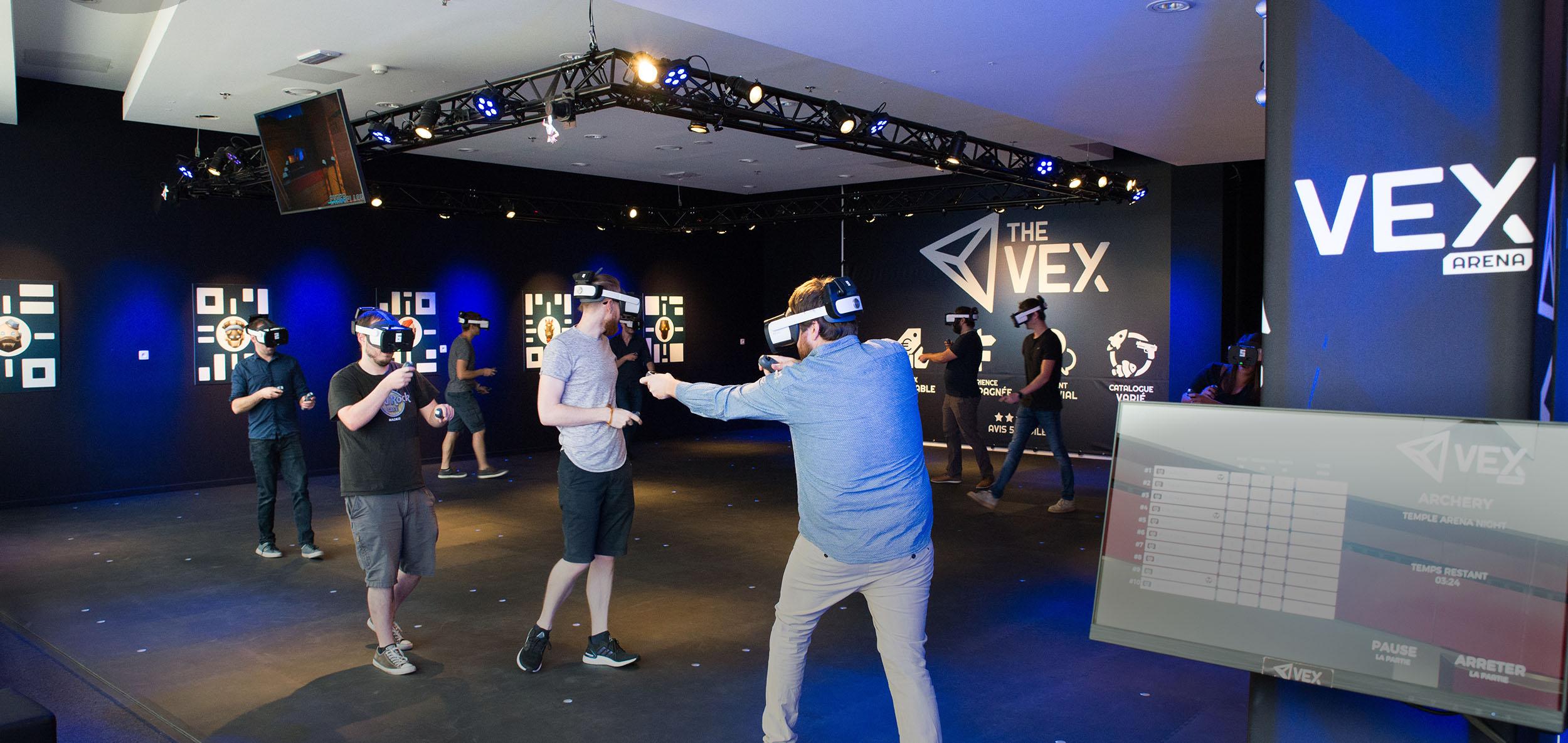 eSports de réalité virtuelle (VR) pour FEC
