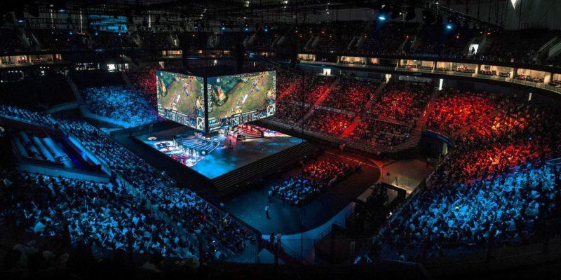 VR Esports in de arena