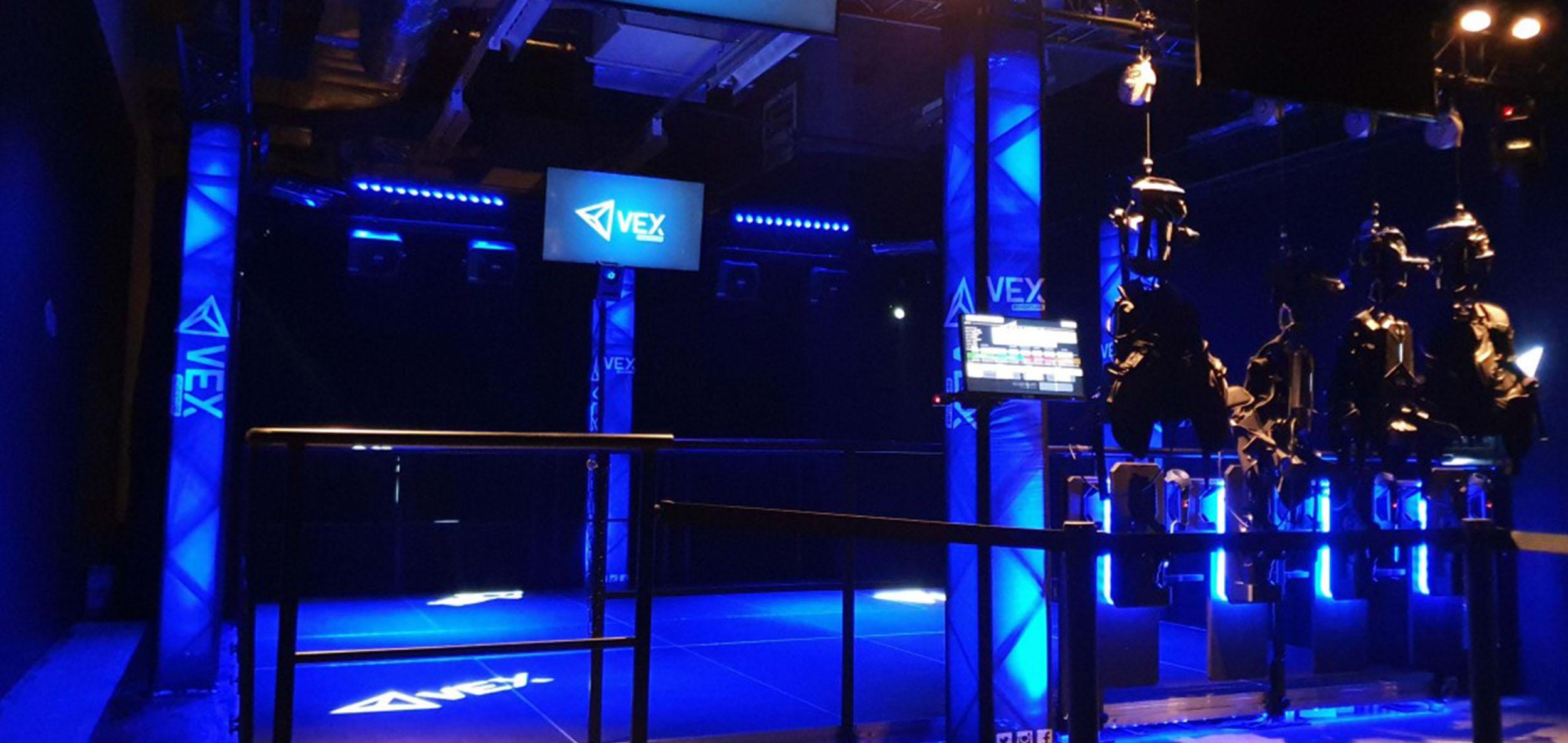 The VEX Adventure attraction