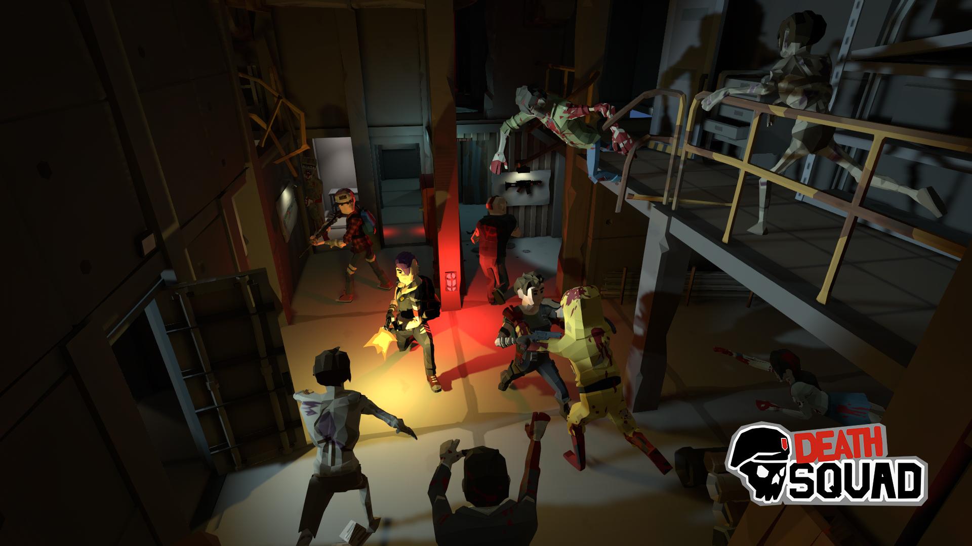 Death Squad, jeu coopératif de tir zombie en VR, réalité virtuelle